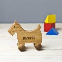 Personalised Scottish Terrier On Wheels