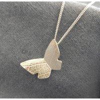 Single Butterfly Pendant