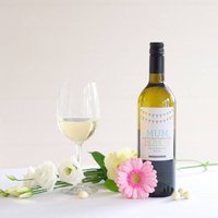 Personalised Sauvignon Blanc Wine, Mothers Day Label