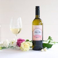 Personalised Sauvignon Blanc Wine For Mothers Day