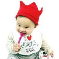Personalised 'I Love My Uncle' Bib