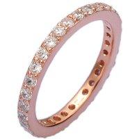 Rose Gold Single Stacking Ring, Gold