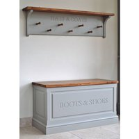 Hat And Coat Rack In Choice Of Colours, Gray/Grey/White