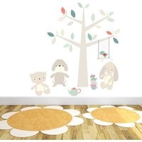 Teddy Bear's Picnic Wall Stickers