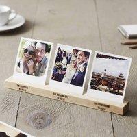 Personalised Couples Timeline Photo Block