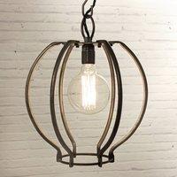 Wrought Iron Globe Light