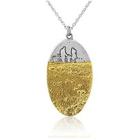 Footprints In The Sand Family Necklace