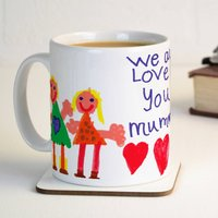 Personalised Child's Own Artwork Mug