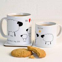 Personalised Sheep Mug