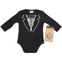 Tuxedo Babygrow In Gift Carton