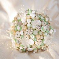 Downton Button Bouquet