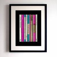 Roxy Music Album As Books Print