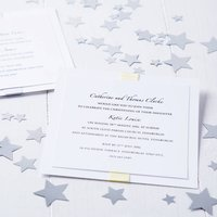 Elegance Baby Naming Christening Invitation