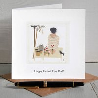 Green Fingers Gardener Personalised Father's Day Card