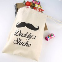 Personalised Bag For Dad's Stache