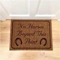 Personalised Horse Doormat