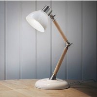 Porcelain Shade Lamp