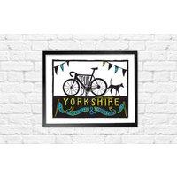 Tour De Yorkshire Print