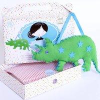 Boys Dinosaur Sewing Craft Kit Creative Gift