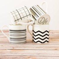 Mono Geometric Mug