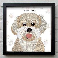 Bichon Frise Dog Print