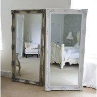 Silver Decorative Dressing Mirror
