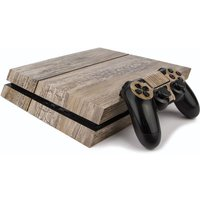 Ps4 Play Station Four Skin Wood Effect
