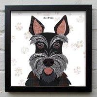 Scottie Dog Print