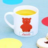 Personalised Bear Children's Mug