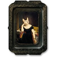 Galerie De Portraits Rectangular Tray Victoire