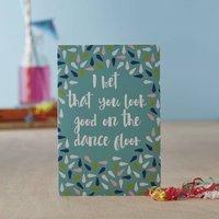 'Dance Floor' Greetings Card