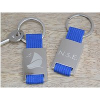Personalised Sailing Keyring