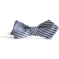 Daniel Striped Cotton Bow Tie