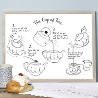 Alice Tait 'Cup Of Tea' Print