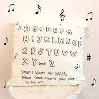 'Abc Song' Nursery Cushion Cover