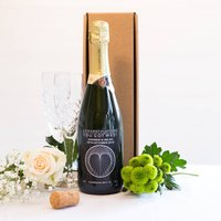 Personalised Wine Bottle Champagne Brut Nv