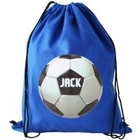 Personalised Sporty Boys Football Kit Bag Or Swim Bag