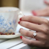 Silver/ White Gold Gemstone Ring: Bobble And Twinkle, Silver