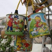 Vintage Nursery Rhyme Tin Lights