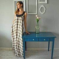 Maxi Silk Dress
