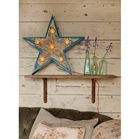 Light Up Wooden Carnival Star