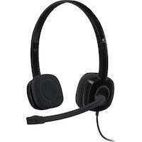 Logitech H151 Binaural Diadema Negro auricular con