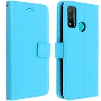 Funda Huawei P smart 2020 Libro Cartera F. Soporte Protección Integral - Azul