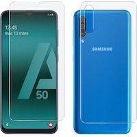 Protector Pantalla Samsung A50 / A30s Frontal y Trasera y Antibacterias