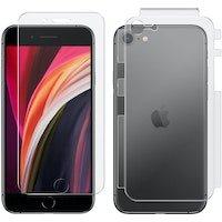 Protector Pantalla iPhone SE 2020 / 8 / 7 Frontal y Trasera y Antibacterias