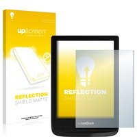 upscreen Protector Pantalla Mate compatible con PocketBook Touch Lux 4 Pelicula - Antireflejos, Anti