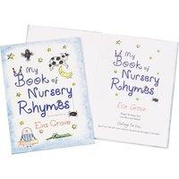 Personalised My Book of Nursery Rhymes - Book Gifts