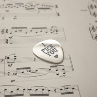 Personalised Plectrum - Guitar Gifts