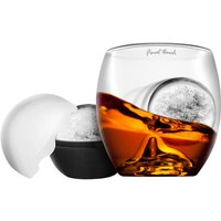 On The Rocks   Tumbler Glass and Ice Ball Mould