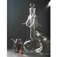 Port Decanter and 4 Glass Sipper Set